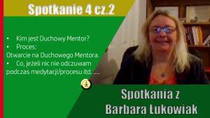 Mentor  Duchowy  – Kim jest  | Spotkanie z Barbarą Łukowiak
